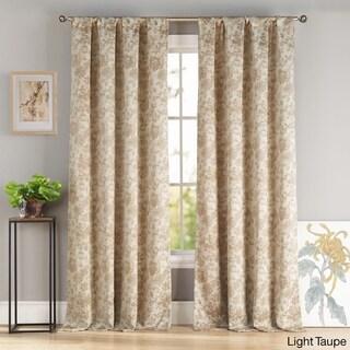 Katy Blackout Pole-top Curtain Panel Pair (Set of 2)