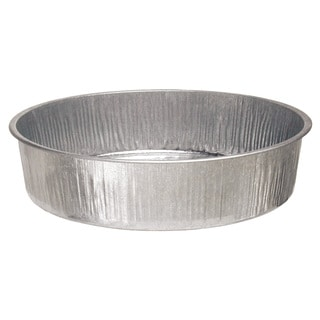 Plews 75-751 16-inch X 4-inch Galvanized Drain Pan