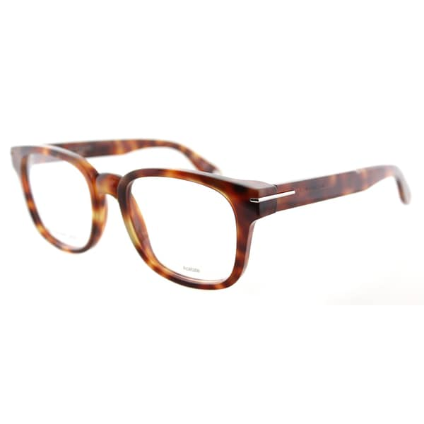 Givenchy GV 0001 VMB Brown Plastic Square Eyeglasses