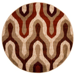 Windsor Home Opus Silhouette Area Rug (5' Round)