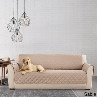 Sure Fit Microfiber Non-Slip Sofa Pet Furniture Protector