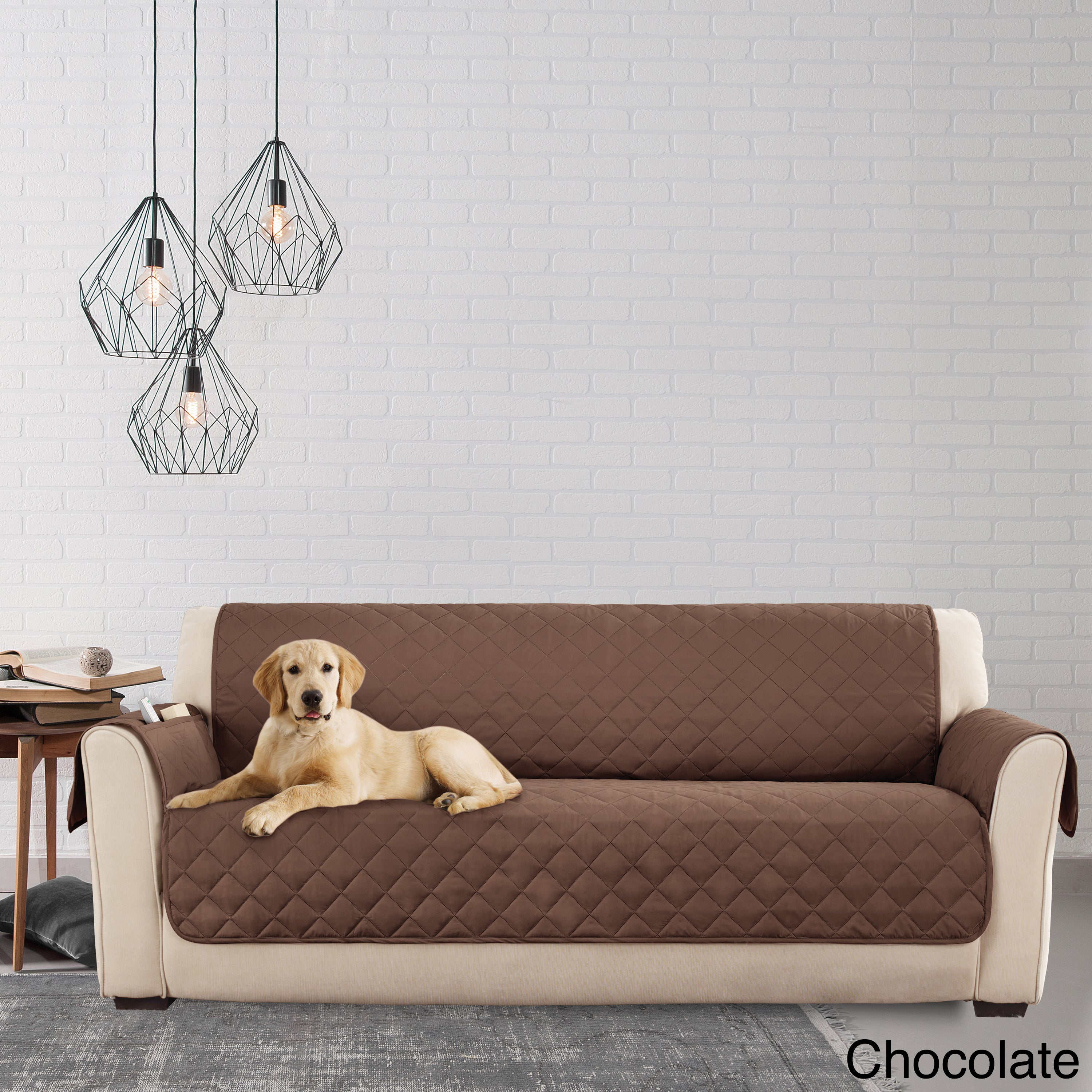 Sofa Pet Cover Quilted Microfiber Pet Dog Couch Sofa