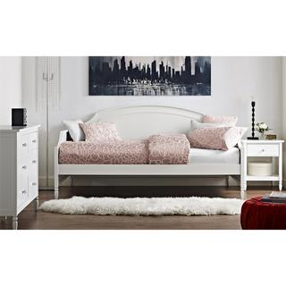 Dorel Living Vivienne White Twin Daybed