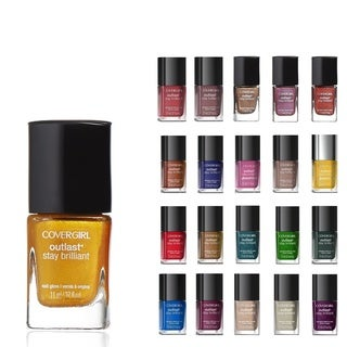 CoverGirl Outlast Stay Brilliant Surprise Color 5-piece Nail Polish Set
