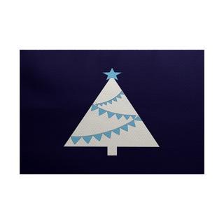 Garland Tree Geometric Print Indoor/ Outdoor Rug (4' x 6')
