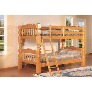 LYKE Home Orlando Twin Bunk Bed