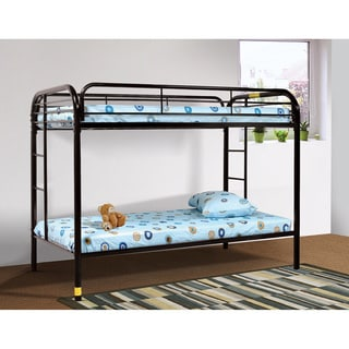 LYKE Home Beth Metal Twin/Twin Bunk Bed