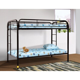 LYKE Home Beth Metal Twin/Twin Bunk Bed