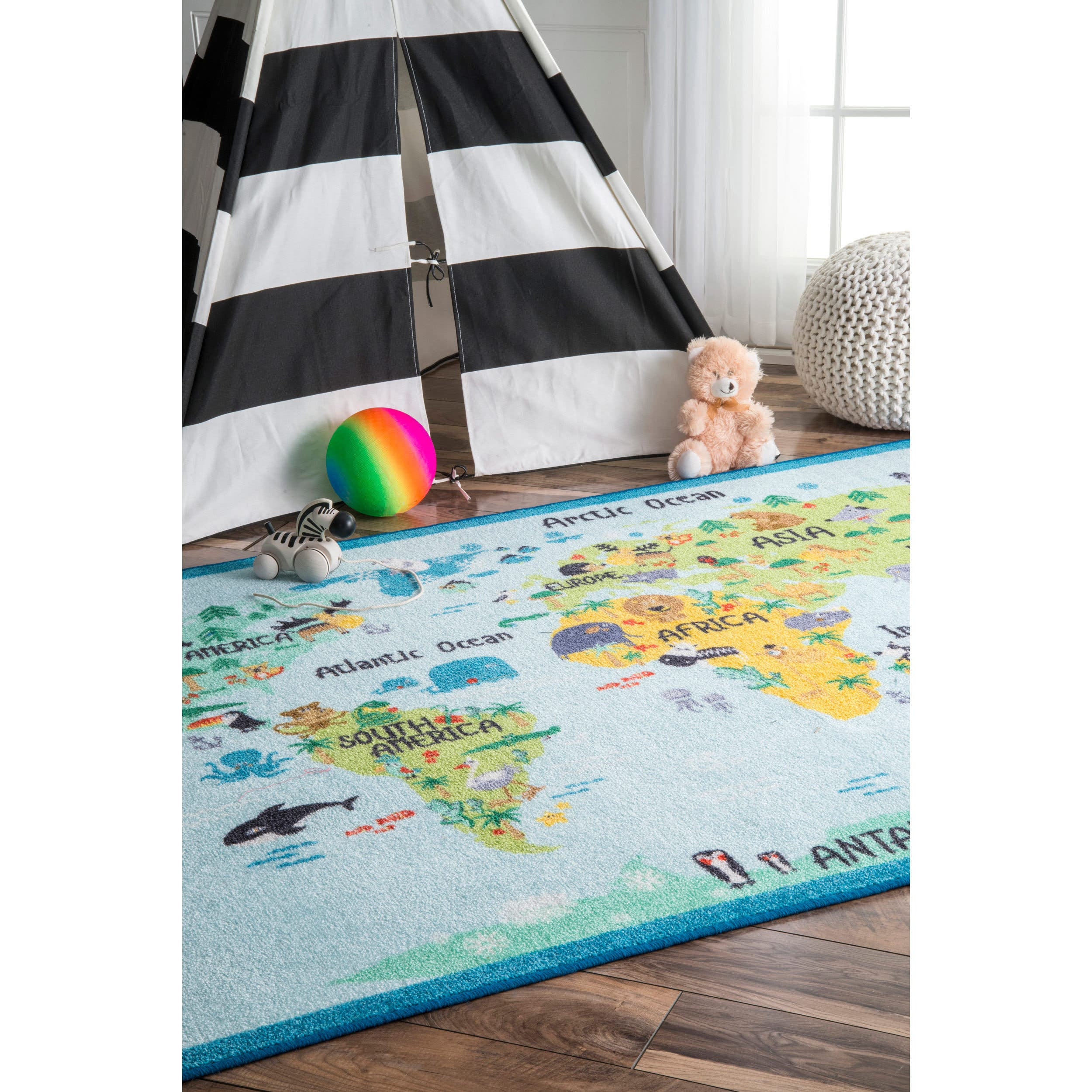 World Map Rug Costco: Buy 3x5 - 4x6 Rugs Online At Overstock.com