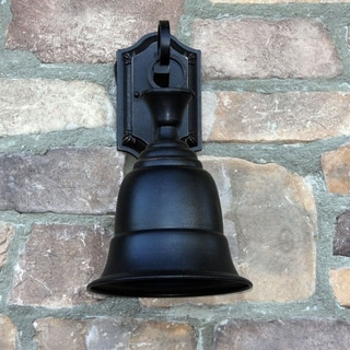 Bell Shaped Outdoor Light Fixture Liberty Oil-rubbed Bronze Finish Steel Exterior Light Fixture