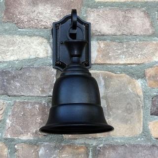 Bell Shaped Outdoor Light Fixture Liberty Oil-rubbed Bronze Finish Steel Exterior Light Fixture