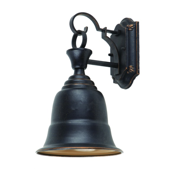 ydecor liberty bellshaped outdoor light fixture in oilrubbed bronze free shipping today