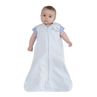 Halo SleepSack Blue Cotton Medium Wearable Blanket