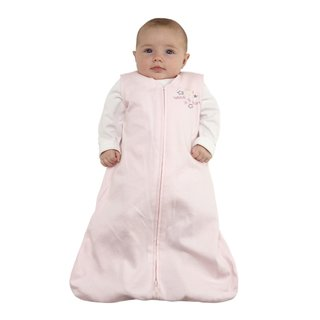 Halo SleepSack Pink Cotton Large Wearable Baby Blanket