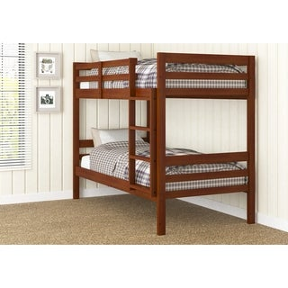 Donco Kids Econo Ranch Light Espresso Twin/Twin Bunk Bed