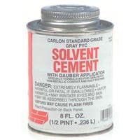 Carlon Lamson & Sessons VC9924-24 8 Oz Grey Solvent Cement