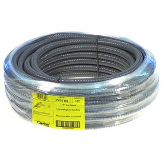 "Carlon Lamson & Sessons 15005-100 1/2"" X 100' Carflex Liquid-Tight Flexible Nonmetallic Condu"