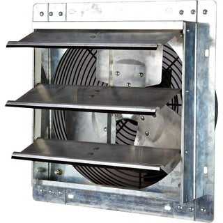 iLIVING 12 Inch Variable Speed Shutter Exhaust Fan, Wall-Mounted