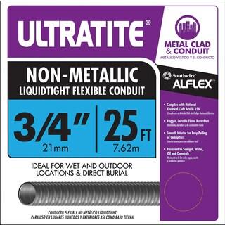 """Southwire 55094321 3/4"""" X 25'Ultratite Non Metallic Liquidtight Flexible Condu"""