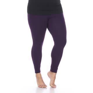White Mark Women's Plus Size Super-Stretch Solid Leggings https://ak1.ostkcdn.com/images/products/11952814/P18839169.jpg?impolicy=medium