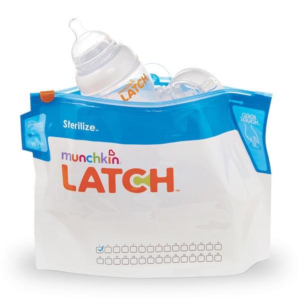 Munchkin LATCH Plastic Sterilizer Bags 19044760