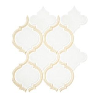 Vicci Design Arabesque Silhouette Glass Mosaic