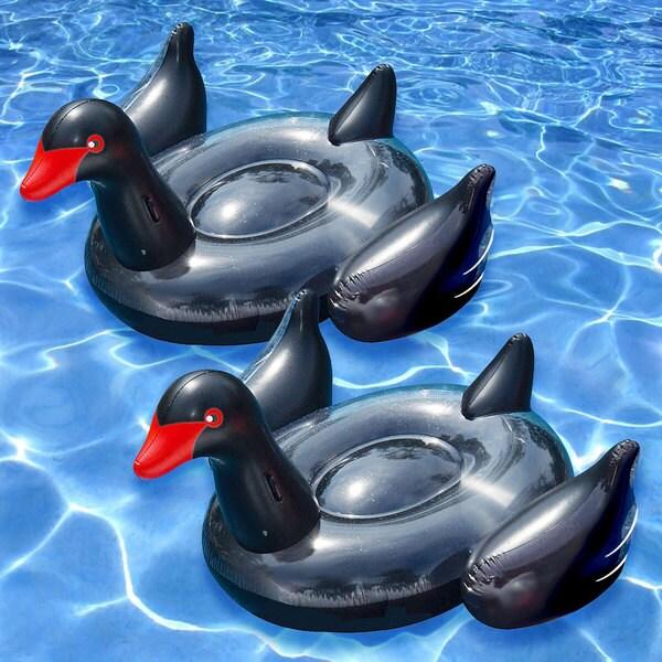 Swimline Giant Black Swan (Set of 2). Opens flyout.