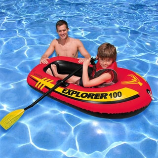 Intex Explorer 100 Inflatable Boat with Oars