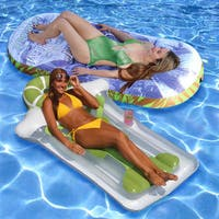 Margaritaville 2-pack Pool Mattress and Margarita Mattress