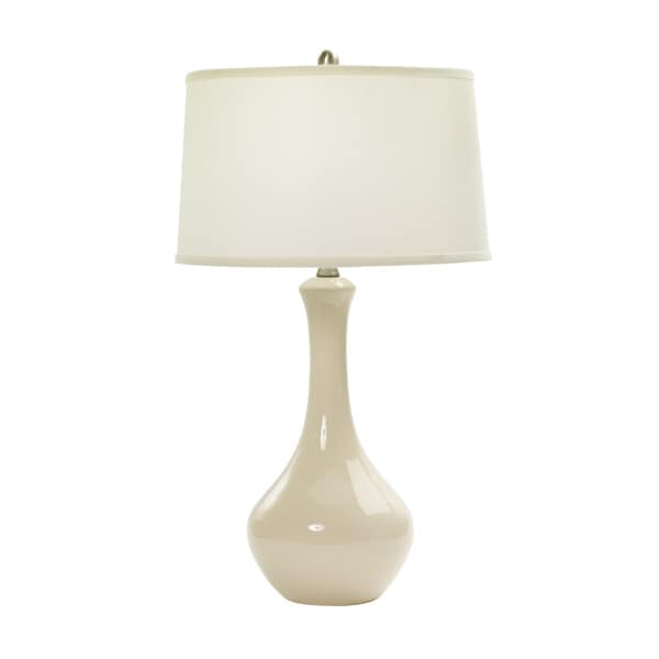 30-inch Chapman Ivory Ceramic Table Lamp