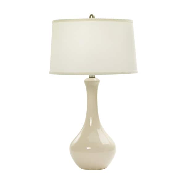 30 Inch Chapman Ivory Ceramic Table Lamp Overstock 11953034