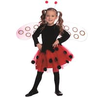 Dress Up America Girl's Ladybug Costume