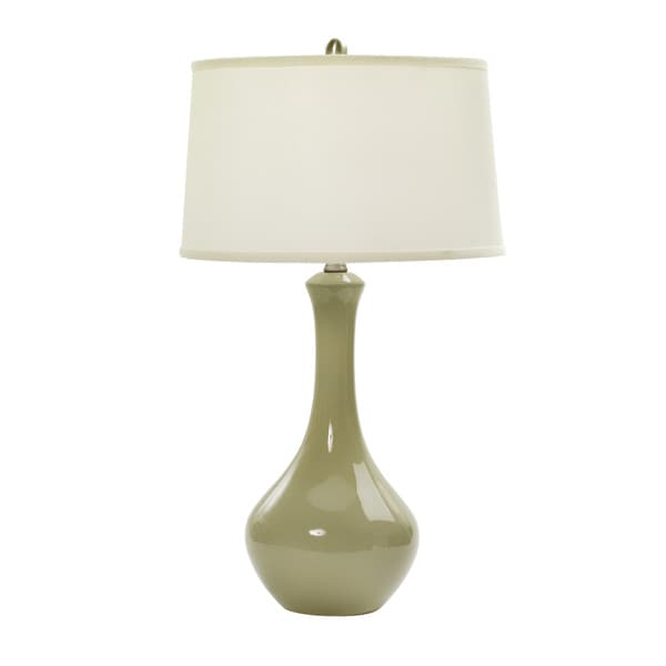 30-inch Heather Ceramic Table Lamp