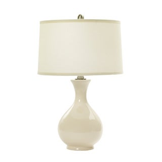 24-inch Chapman Ivory Ceramic Table Lamp
