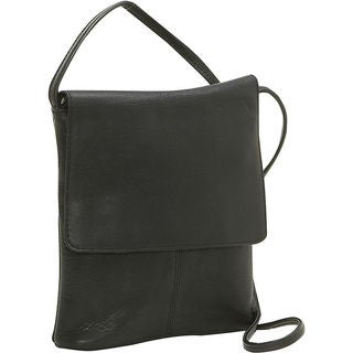 Le Donne Leather Small Flap-over Crossbody Handbag