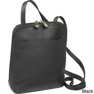 Le Donne Leather U-Zip Mini Crossbody Shoulder Handbag