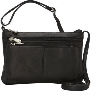 Le Donne Waverly Leather Crossbody Handbag