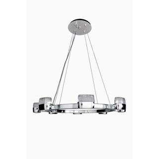 Maxim Volt LED Metal Multi-light Pendant - Chrome