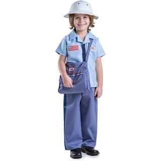 Dress Up America Boy's Mail Carrier Costume