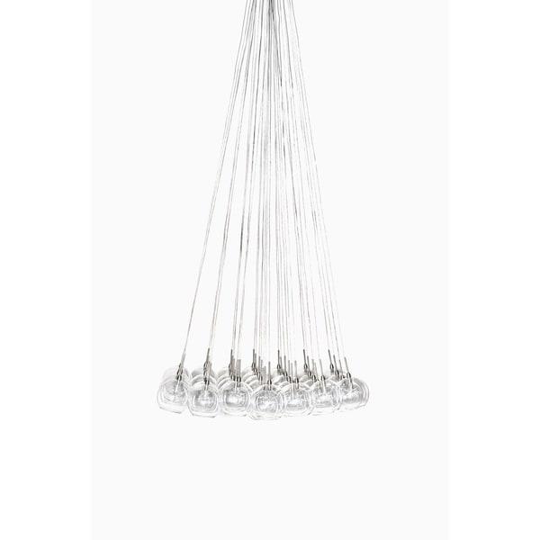 Maxim Starburst Satin Nickel Multi-light Pendant
