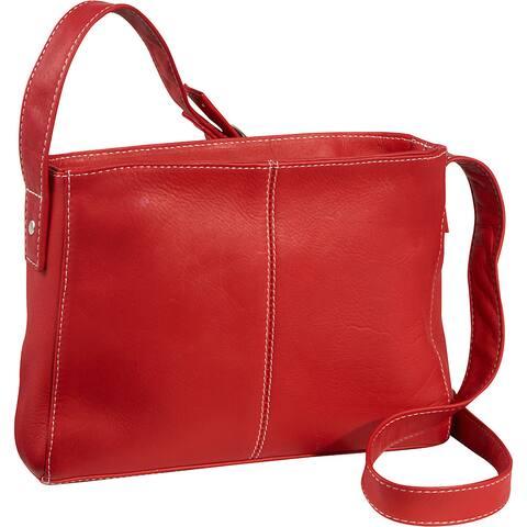 LeDonne Leather Top-zip Crossbody Handbag