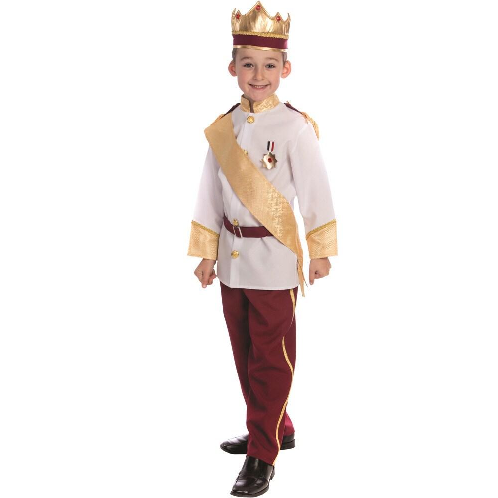 Dress Up America Royal Prince Costume (S (4-6)), Boy's, S...