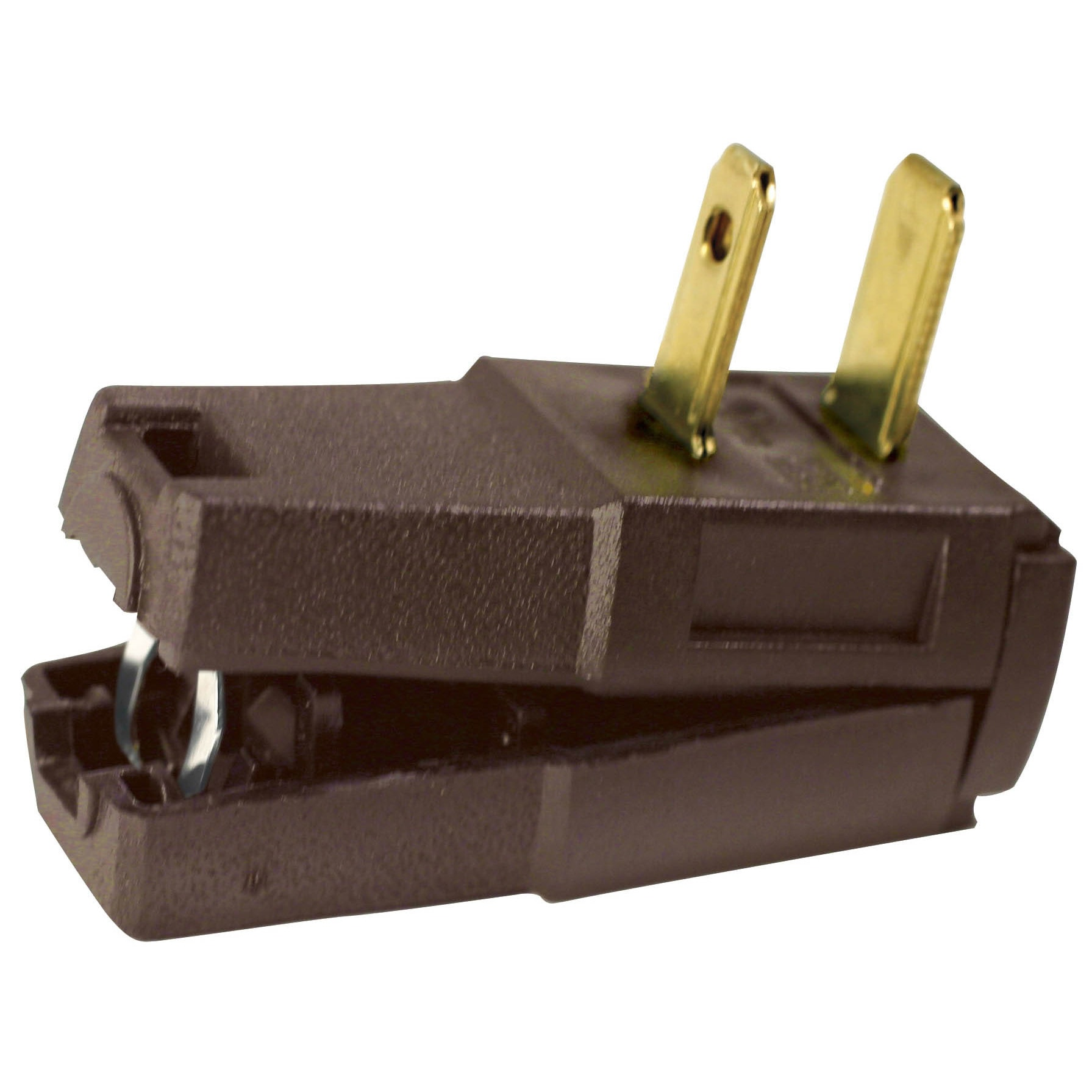 Leviton C20-00321-000 Brown Residential Easy Wire Angle P...