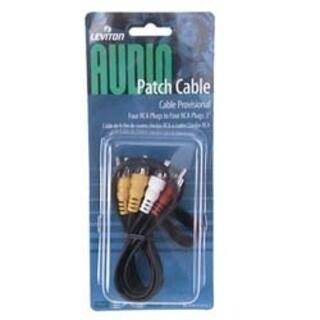 Leviton 830-C5454-3 Audio Patch Cable