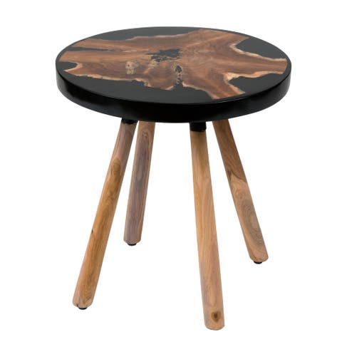 """East At Main's Jaiden Side Table - 18""""x18""""x18.5"""""""