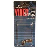Leviton 830-C5307 Video Twist-On F Plug
