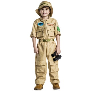 Boys' Polyester Zoo Keeper Halloween Costume