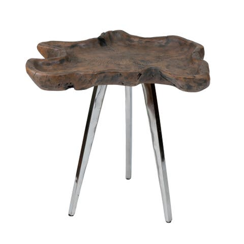 """East At Main's Jamarreon Side Table - 16"""" x 18"""" x 21.5"""""""