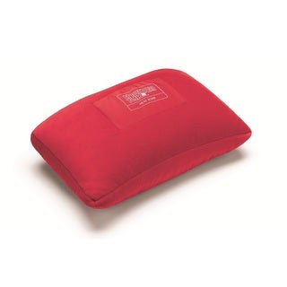 ThermaTek Red Polyester Heated Personal Travel Pillow