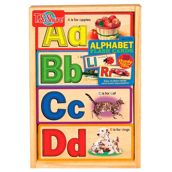 T.S. Shure Alphabet Flash Cards